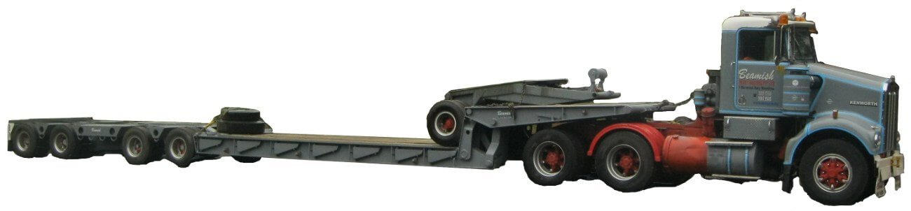 Low Loader – Carrying Capacity of 48 ton