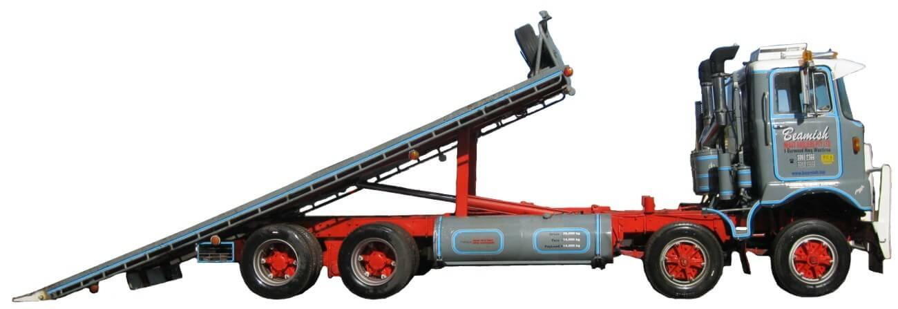 Tilt Tray – Carrying Capacity of 12 ton